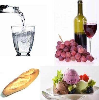 Десерт;Хлеб, Вино или Воды.;